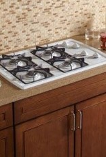 "Whirlpool Whirlpool 30"" Gas Cooktop White"