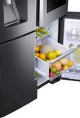 Samsung Samsung 27.9 Family Hub French Door Refrigerator Black Stainless