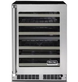 "Viking Viking 24"" 40-Bottle Dual Zone Wine Cooler Stainless"