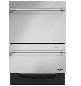 DCS DCS Fully Integrated Double Drawer Dishwasher Stainless