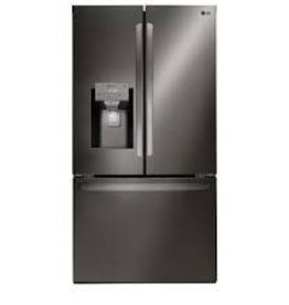 LG LG 26.2 French Door Refrigerator Black Stainless