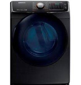 Samsung Samsung 7.5 Steam Electric Dryer Black Stainless