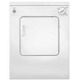 "Whirlpool Whirlpool 24"" 3.4 120v Electric Dryer White"