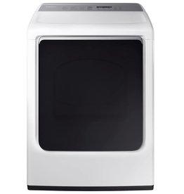 Samsung Samsung 7.4 Steam Gas Dryer White