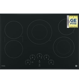 "GE GE Profile 30"" Electric Cooktop Black"