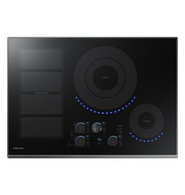 "Samsung Samsung 30"" Induction Electric Cooktop Black Stainless"