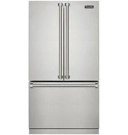 Viking Viking 22.1 Counter Depth French Door Refrigerator Stainless