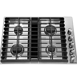 "KitchenAid Kitchenaid 30"" Downdraft Gas Cooktop Stainless"