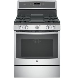 GE GE Profile Freestanding Convection Gas Range Stainless