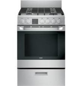 "Haier Haier 24"" Freestanding Convection Gas Range Stainless"