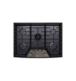 "LG LG Studio 30"" Gas Cooktop Black Stainless"