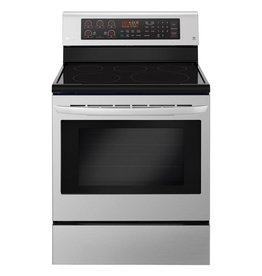 LG LG Freestanding Convection Electric Range Stainless