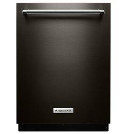 KitchenAid Kitchenaid Fully Integrated Dishwasher Black Stainless