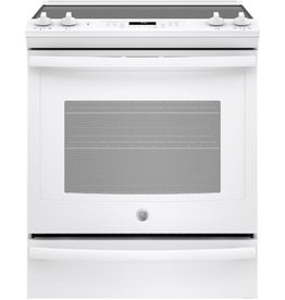 GE GE Slide-In Convection Electric Range White