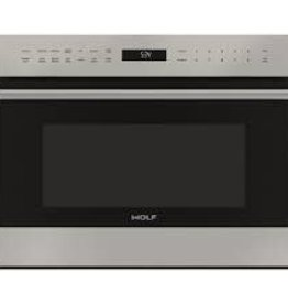 "Wolf Wolf 24"" 1.8 Built-In Microwave Stainless"