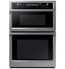 """Samsung Samsung 30"""" Convection Microwave Wall Oven Combo Stainless"""