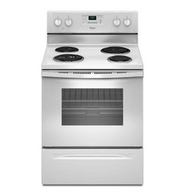 Whirlpool Whirlpool Freestanding Electric Range White