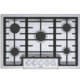 "Bosch Bosch 30"" Gas Cooktop Stainless"