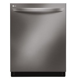 LG LG Fully Integrated Dishwasher Black Stainless
