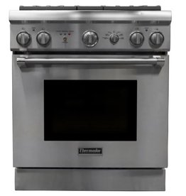 Thermador Thermador Slide-In Convection Duel Fuel Range Stainless