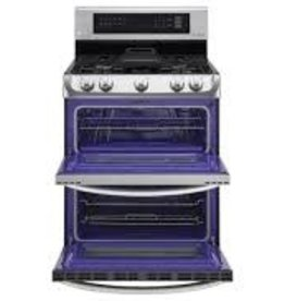 LG LG Freestanding Convection Double Gas Range Stainless