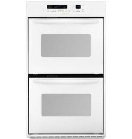 "KitchenAid Kitchenaid 24"" Convection Double Wall Oven White"