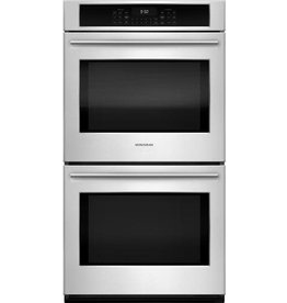 "GE GE Monogram 27"" Convection Double Wall Oven Stainless"