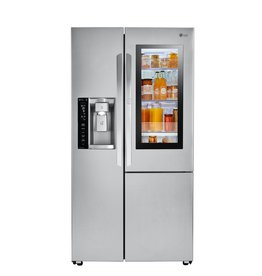 LG LG 21.7 Counter Depth SxS Refrigerator Stainless