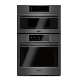 "Bosch Bosch 30"" Convection Microwave Wall Oven Combo Black Stainless"