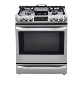 LG LG Slide-In Convection Dual Fuel Range Stainless