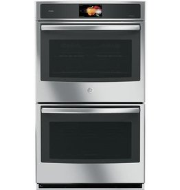 """GE GE Profile 30"""" Convection Double Wall Oven Stainless"""