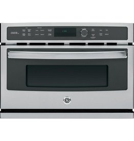 GE PROFILE GE Profile 27 in. Single Electric Wall Oven with Advantium Cooking in Stainless Steel