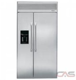 "GE GE Monogram 42"" 25.5 Built-In SxS Refrigerator Stainless"