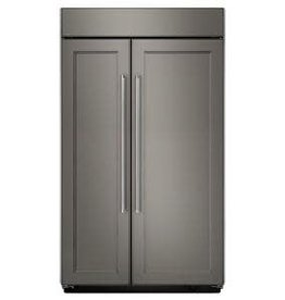 "KitchenAid Kitchenaid 42"" 25.5 Built-In SxS Refrigerator Panel Ready"