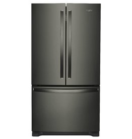 Whirlpool Whirlpool 25.2 French Door Refrigerator Black Stainless