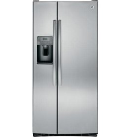 """GE GE 33"""" 23.2 SxS Refrigerator Stainless"""