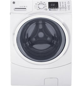 GE GE 4.5 Steam Front Load Washer White