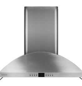 "GE GE Monogram 36"" Chimney Range Hood Stainless"