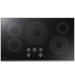 "Samsung Samsung 36"" Electric Cooktop  Black Stainless"