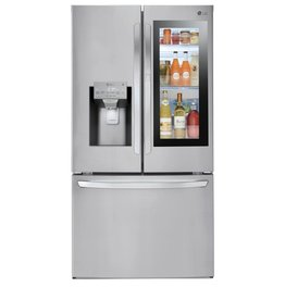 LG LG 27.5 Instaview French Door Refrigerator Stainless
