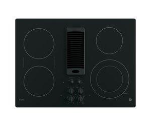 Ge Profile 30 Radiant Electric Downdraft Cooktop Black Smart Buy Appliance Outlet