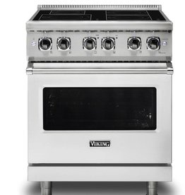 Viking Viking Slide-In Induction Convection Electric Range Stainless