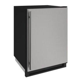 "U-Line U-Line 24"" Built-In Refrigerator/Freezer Stainless"