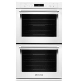 "KitchenAid KitchenAid 30"" Convection Double Wall Oven White"