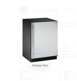 "U-Line U-Line 24"" 4.2 Built-In Mini Refrigerator Stainless"