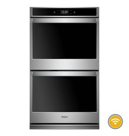 """Whirlpool Whirlpool 27"""" Convection Double Wall Oven Stainless"""