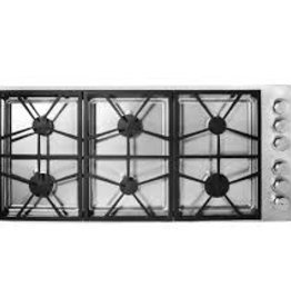 "Dacor Dacor 46"" Gas Cooktop Stainless"