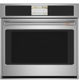 """GE GE Cafe 30"""" Convection Wall Oven Stainless"""