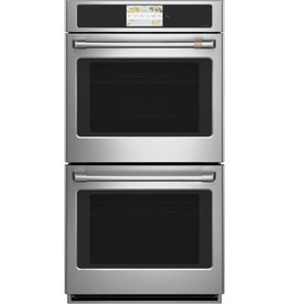 """GE GE Cafe 27"""" Convection Double Wall Oven Stainless"""