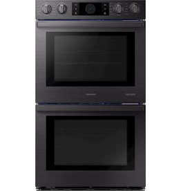 "SAMSUNG CHEF COLLECTION Samsung 30"" Chef Collection Smart Electric Double Wall Oven Black Stainless Steel"
